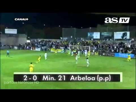 Alcorcón 4 vs 0 Real Madrid 27/10/2009 (HD, 3D, HQ)