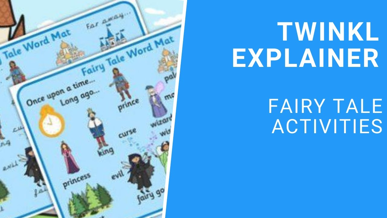Fairy Tale Writing Paper printable - Primary Resources