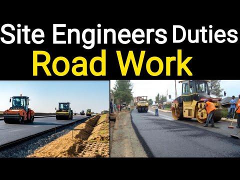 Duties of Civil Site Engineers on Road work || Responsibilities of Civil Engineers on Bitumen Work