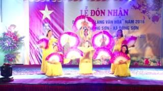 Thaibinhstudio LỄ ĐÓN NHẬN LÀNG VĂN HÓA THÔN LUONG SƠN 2016  PHÂN 1