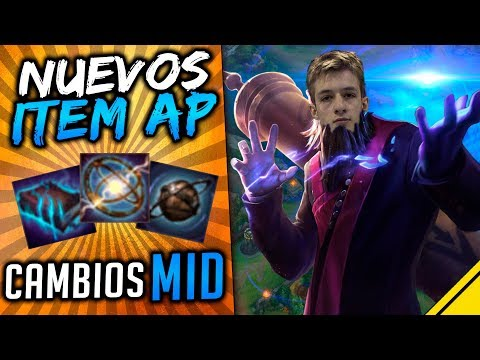 NUEVOS ITEMS AP y REWORK - CAMBIO TOTAL EN MID LANE | Jota N
