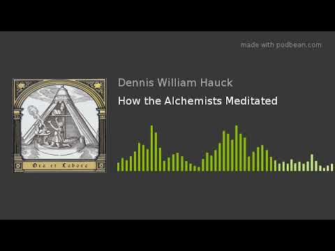 How the Alchemists Meditated