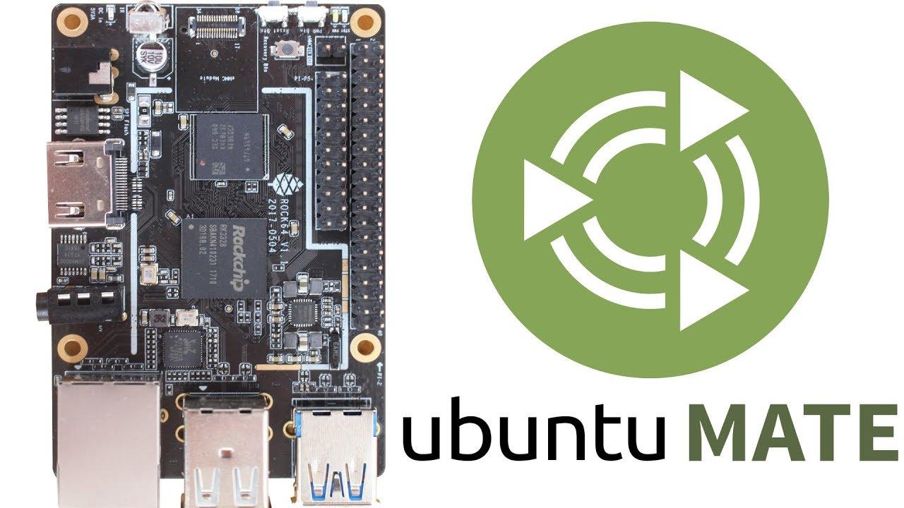 [TUT] Pine ROCK64 - Ubuntu Xenial MATE [4K | DE]