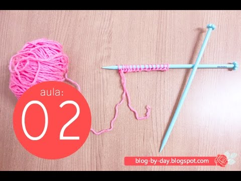 Knitting Course For Begginers #02 :: Cast on