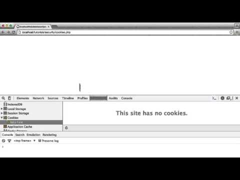 PHP Security: What you shouldn't store in cookies