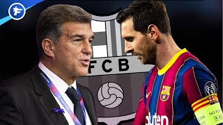 Lionel Messi mis sous pression par le nouveau président du Barça | Revue de presse