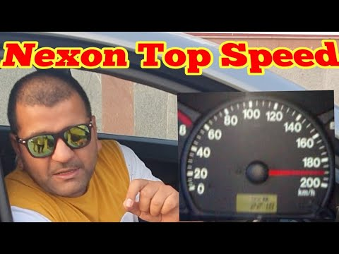 Tata nexon top speed test on express way.