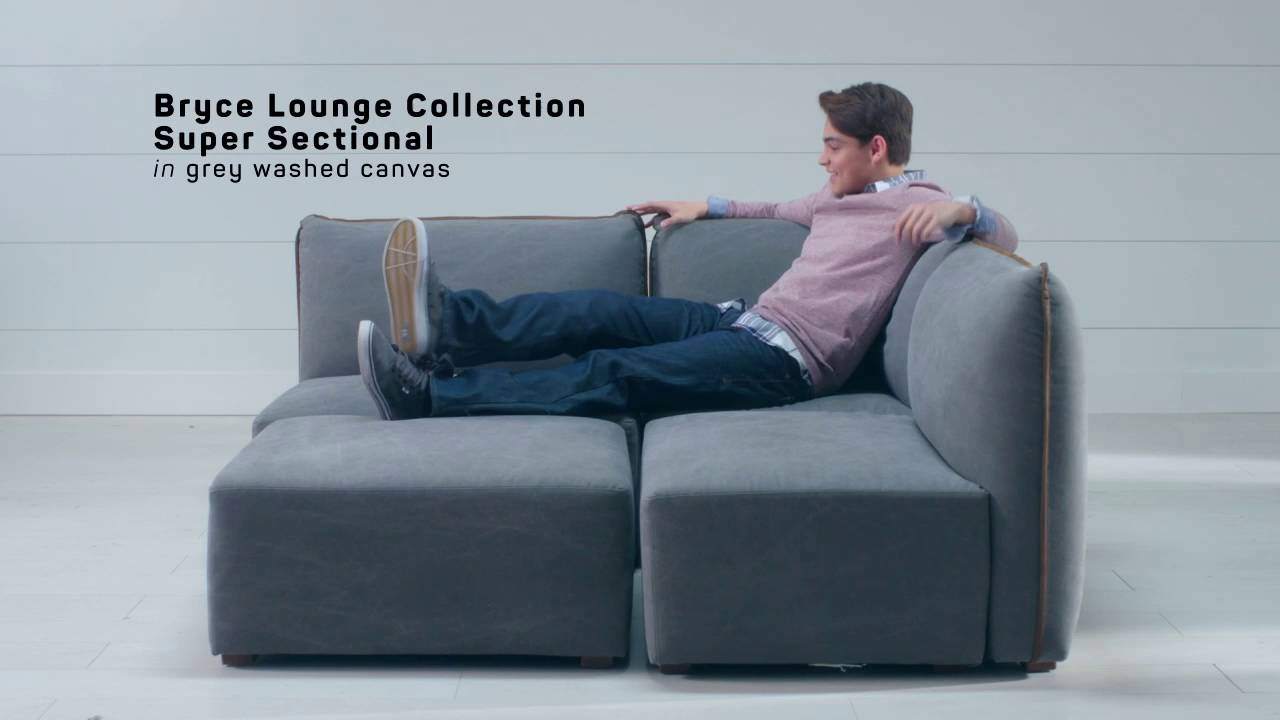 Sit Stay Bryce Lounge Sectional Collection Pbteen
