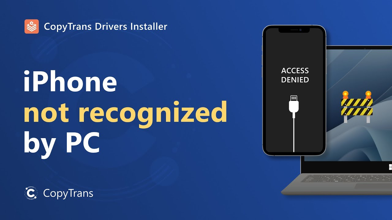 iphone not recognized how to fix iphone not detected or recognized on pc 12087