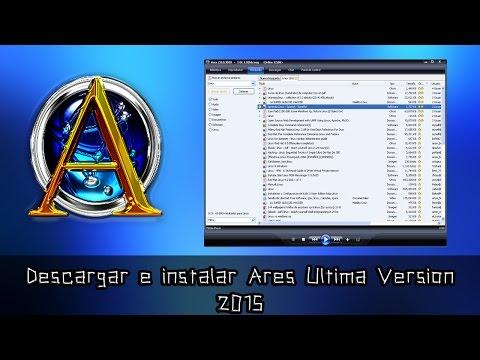 Descargar Ares 2.3.0 Sin Virus Ultima Versión 2017 MEGA