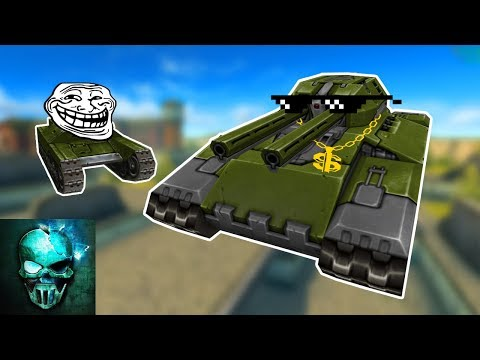 Try Not to Laugh Challenge!! Troll Montage #9 (funny video) - Tanki Online - Ghost Animator TO