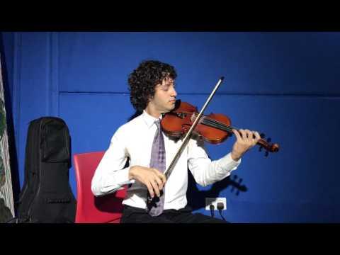 Alejandro - Violin Teacher in Star Music Studio in Dubai