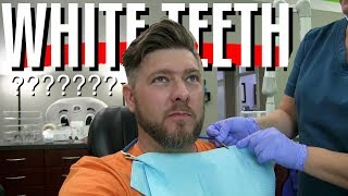 😁 Getting My Teeth Whitened Professionally | Watch the Process at Dentist Office