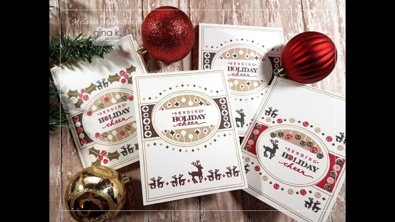 Fabulous Frame Holiday Cards - YouTube