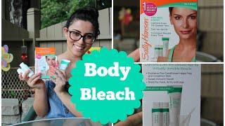 Body bleach | How I bleach my arm hair | By: Yara
