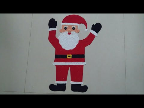 Santa Claus Rangoli Design special for Merry Christmas | Christmas Decoration Ideas | Santa has Come