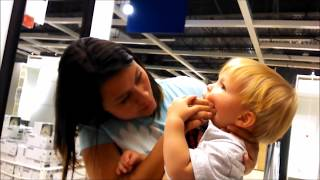 BABY CHOKES ON IKEA FOOD!!!