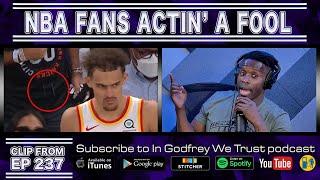 NBA Fans Actin' a Fool
