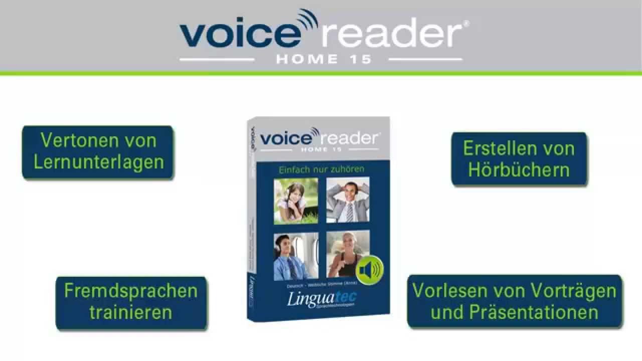 linguatec voice reader home