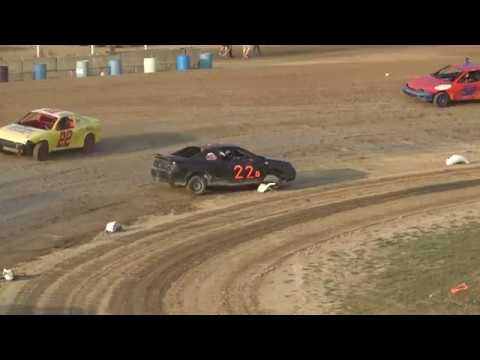 Flinn Stock Heat Race #1 at Crystal Motor Speedway, Michigan, on 09-16-2017
