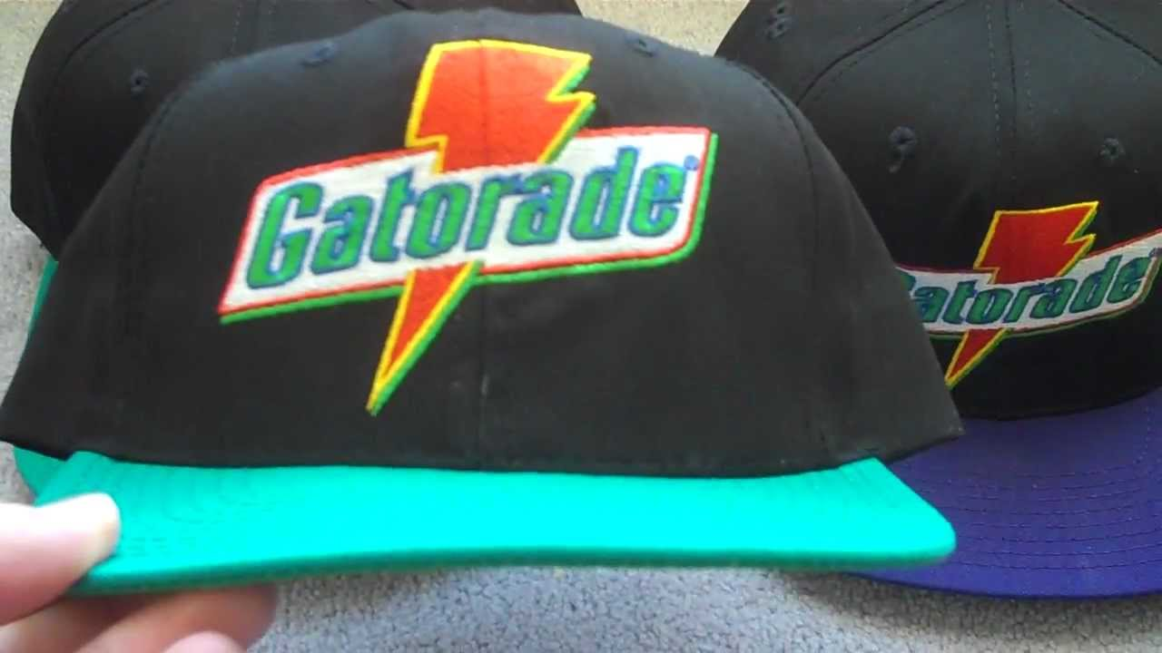 new concept 9c94d be984 vintage gatorade hat
