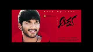 Arya Telugu Movie - Feel My Love song karaoke track