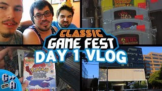 Classic Game Fest 2018 VLOG Day 1 - Game Away