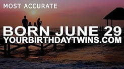 Born On June 29 | Birthday | #aboutyourbirthday | Sample
