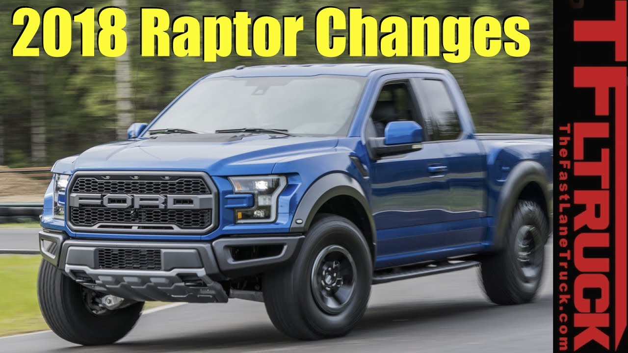 Whats new with 2018 ford raptor