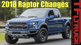 What's new with 2018 Ford Raptor