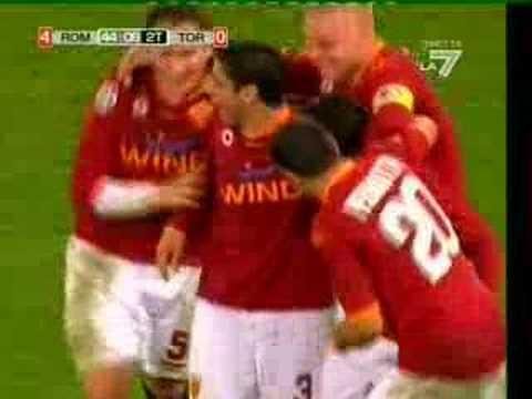 Roma - Torino 4 - 0 Giuly