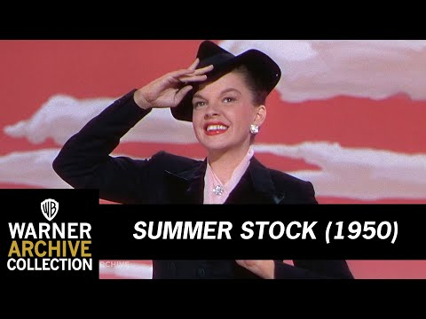 Summer Stock (1950) – Get Happy – Judy Garland