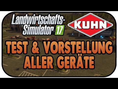 LS17 Kuhn DLC - Test & Vorstellung aller Geräte - Landwirtschaft Simulator 17 Kuhn DLC Review