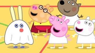 小猪佩奇 | 万圣节特辑🎃 | 1小时 | 体育课 | 粉红猪小妹|Peppa Pig Chinese |动画