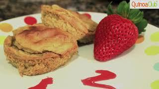 Pastel de banano con Quinua