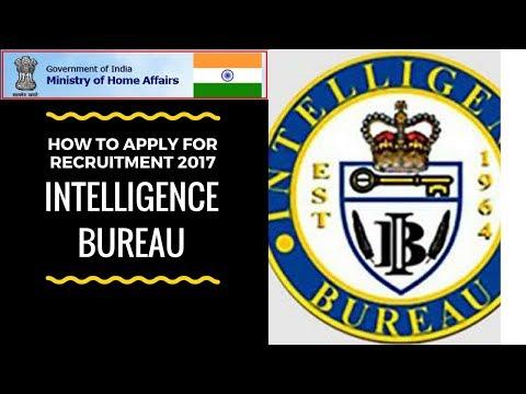 Intelligence Bureau ACIO Recruitment 2017 for 1430 Vacancies - Apply Online!