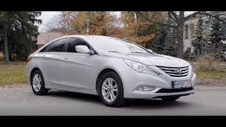 Обзор авто без Бензобака из Кореи Hyundai Sonata YF LPI 2011