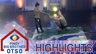 PBB OTSO Day 8: Aljon at Lie, sumalang sa 88 second dance art challenge