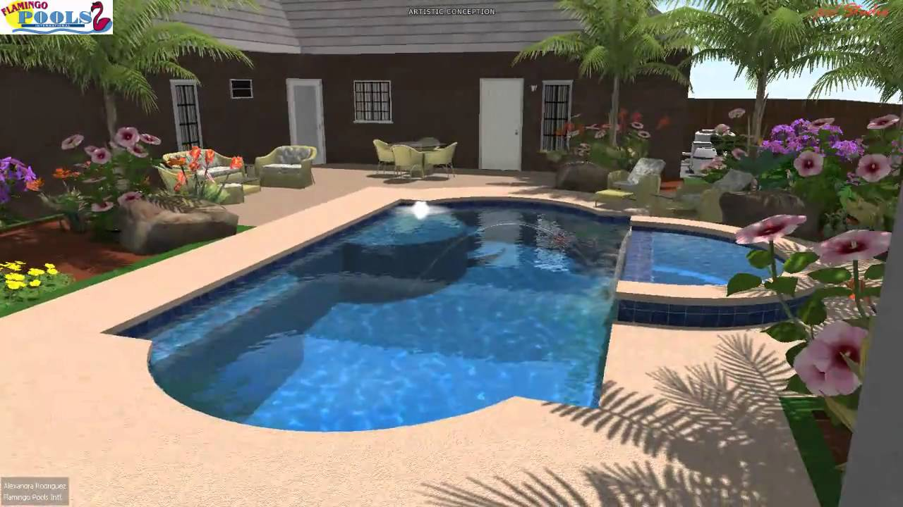 3d swimming pool design alfredo sabina g san benito for 3d pool design programs