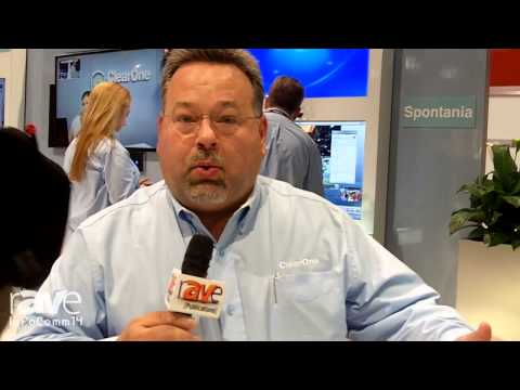 InfoComm 2014: ClearOne Talks About the Beamforming Microphone