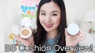 BB Cushion Overview + Laneige Pore Control BB Cushion vs. Innisfree Longwear BB Cushion