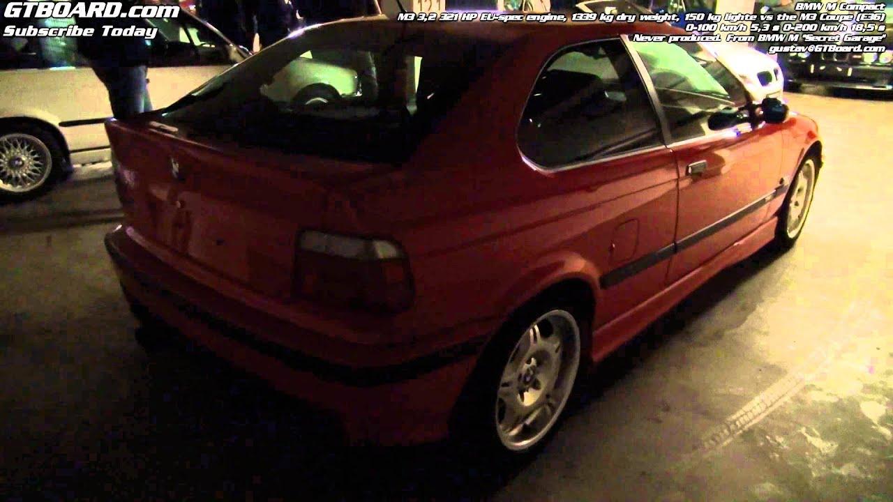 Bmw m compact 3 2 321 hp from bmw m gmbh secret garage for Garage bmw ivry