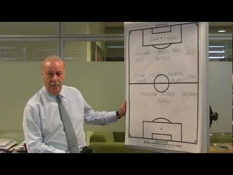 Vicente Del Bosque to wish a great Clericus Cup!