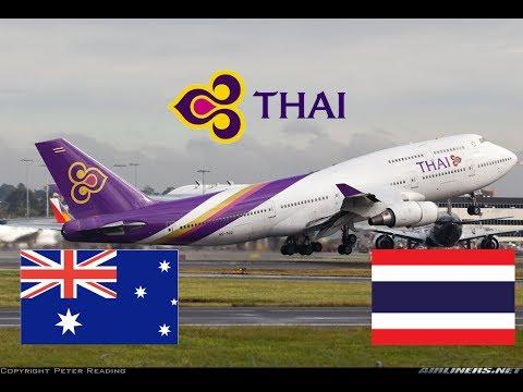 Thai Airways - Sydney (SYD) - Bangkok (BKK) Economy Flight review