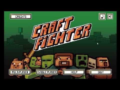 CraftFighter ศึกต่อสู้จากตัวละครมายคราฟ