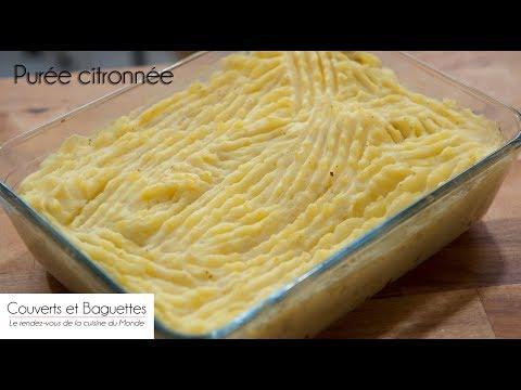 Purée citronnée - Couverts et Baguettes