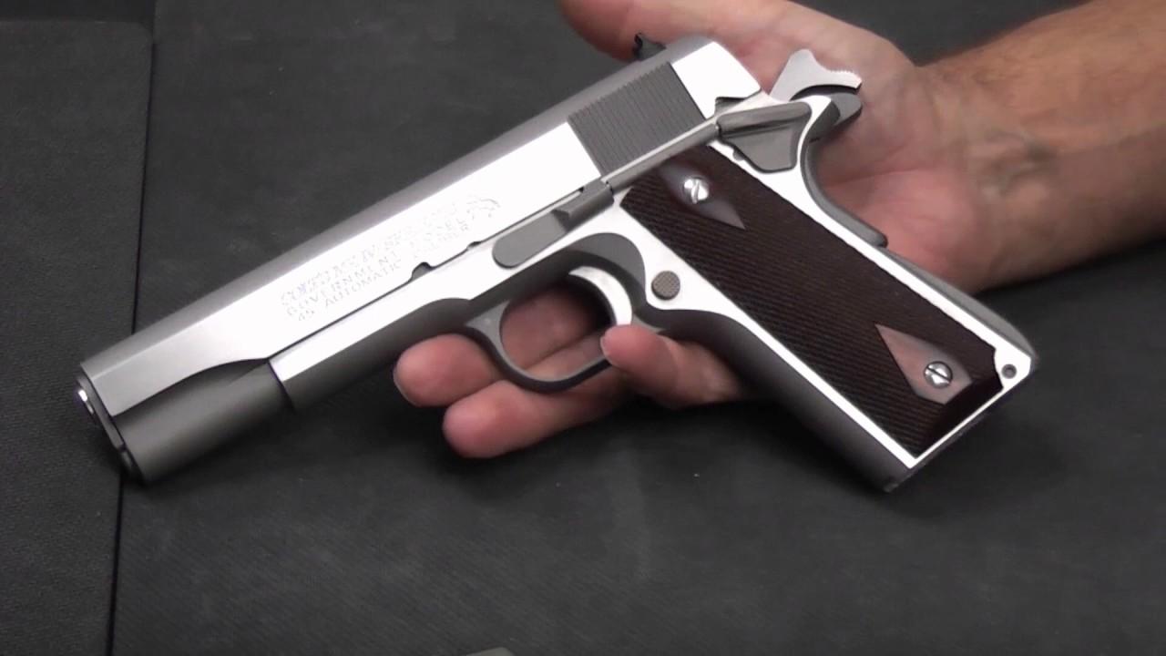 70 Series Colt 1911 - Government Model, MK IV