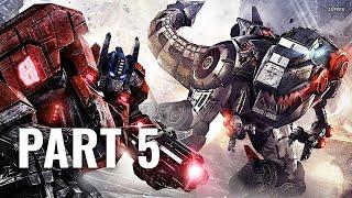 Transformers: Fall of Cybertron Walkthrough - Part 5 [Chapter 2] - The Neutron Gun Let
