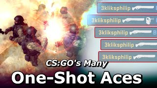 CS:GO's Many Possible One-Shot Aces