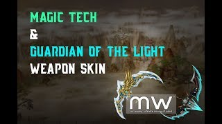 CABAL Online: Magic Tech and Guardian of the Light Weapon Skins